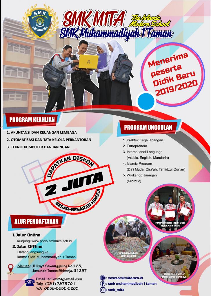 Poster PPDB SMKMITA 2019